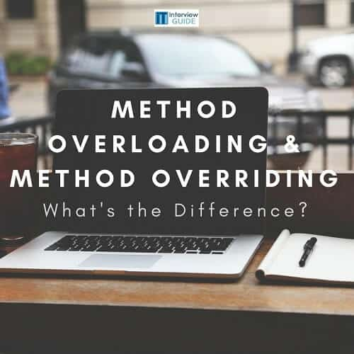 In Java, What?s The Difference Between Method Overloading
