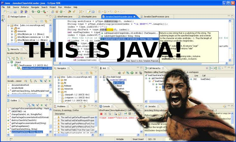 Java Website