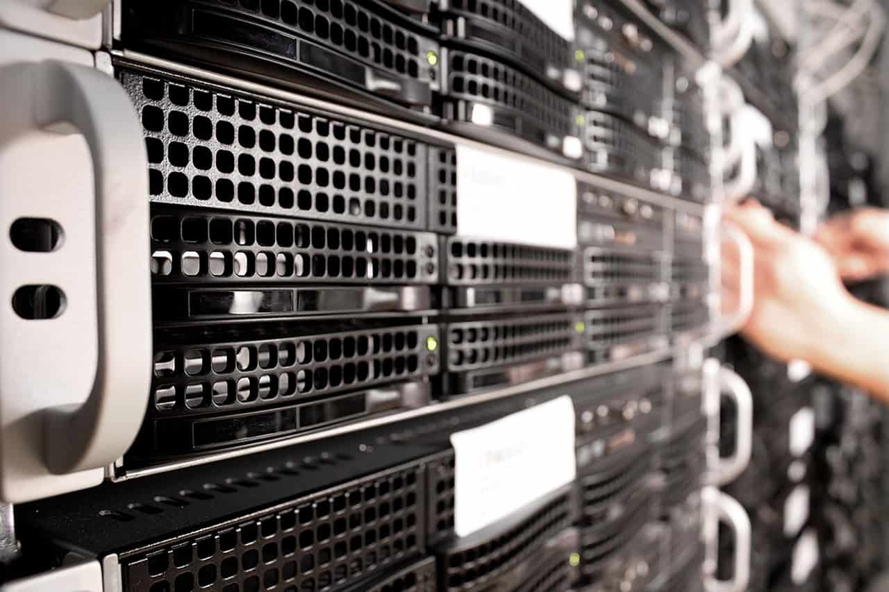 servers of a server cloud service